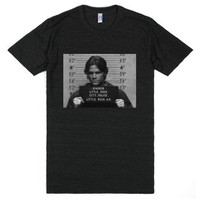 Moose In Trouble-Unisex Athletic Black T-Shirt
