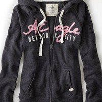 AEO Women's Nyc Zip-up Hoodie