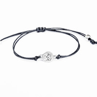 Om Bracelet made with Cotton Cord