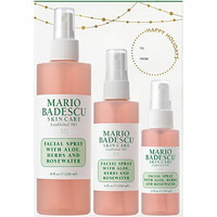Facial Spray with Aloe, Herbs, and Rosewater Trio