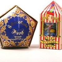 Wizarding Harry Potter Honeyduke's Chocolate Frog & Bertie Botts Candy Set