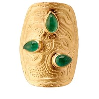 Tribal emerald & yellow-gold ring | Aurélie Bidermann Fine Jewellery | MATCHESFASHION.COM US
