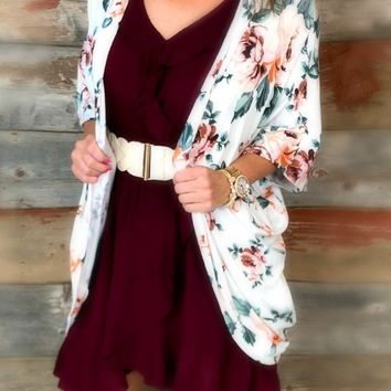 This is for Me Dress: Burgundy