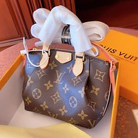 LV Louis Vuitton Fashion Women Shopping Bag Leather Handbag Tote Crossbody Satchel Shoulder Bag