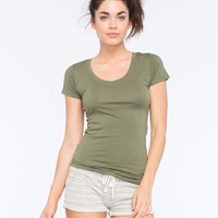 ACTIVE V-Neck Womens Tee | Girl In Motion