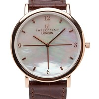 Tateossian Stainless Nacre Watch