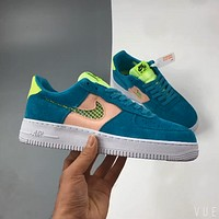 Nike Air Force 1 Low colorblock low-top versatile casual sports shoes