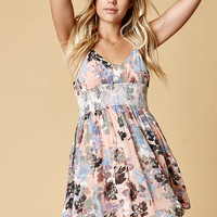 New Friends Colony Ruffle Front Cold Shoulder Dress at PacSun.com