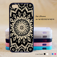 Mandala Phone Case For iPhone 6 Plus For iPhone 6 For iPhone 5/5S For iPhone 4/4S For iPhone 5C iPhone X 8 8 Plus
