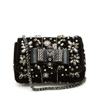 CHRISTIAN LOUBOUTIN | Sweet Charity Embellished Suede Bag | Browns fashion & designer clothes & clothing
