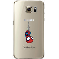 Spider Man Jelly Clear Case for Samsung Galaxy S7 Edge