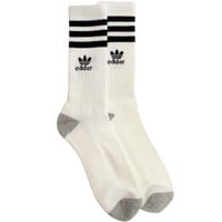 Adidas Originals Crew Socks (white / black) Accessories Q18120 | PickYourShoes.com