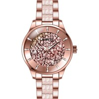 Invicta Women's 24663 Angel Quartz 3 Hand Pink Dial Watch
