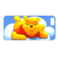 Pooh the bear on cloud Iphone 5 case iphone 5 cover