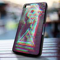 Triangle wolf rainbow design for iPhone 4/4s, Iphone 5, Samsung Galaxy S3, Samsung S4, Blackberry Z10, Ipod 4 & Ipod 5 from stevaz store
