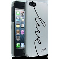 Cellairis by Elle & Blair Live Case for Apple iPhone 5 - Silver