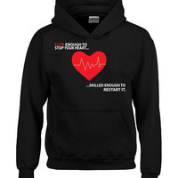 Cute Enough Stop Your Heart - Hoodie