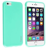 """Insten Mint Green Shockproof Ultra Thin Soft Rubber TPU Case Cover For iPhone 6 Plus / 6S Plus 5.5"""" inch - Walmart.com"""
