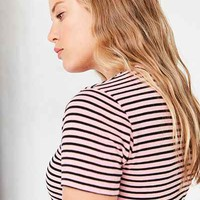 BDG Sienna Striped Crew-Neck Tee - Urban Outfitters