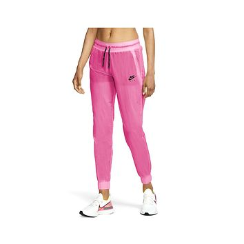 Nike Women's Air  2 In 1 Running Trousers Pink