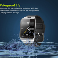 "Waterproof Aplus GV18 Smart watch phone 1.55"" GSM NFC Camera wrist Watch SIM card Smartwatch for iPhone6 Samsung Android Phone"
