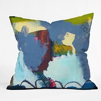 Natalie Baca Inside Out Throw Pillow