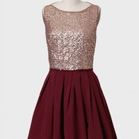Time And Place Sequined Dress