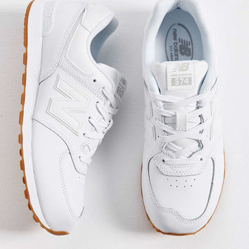 New Balance 574 Leather Sneaker - Urban Outfitters