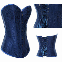 Sexy Corset Top Bustiers Boned Lingerie Small-plus Size 2XL Wedding Lace Up