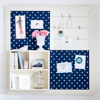 2x2 Navy Dottie Set