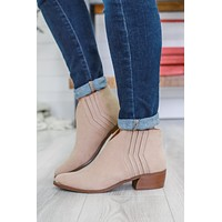 Hansyn Booties - Taupe