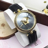Versace Fashion Dial Couple Watch Wristwatch