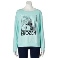 Disney Frozen Lace Anna & Elsa Sweatshirt - Juniors, Size: