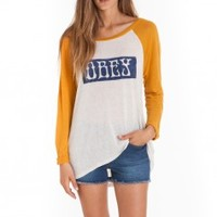 OBEY CLOTHING - TEES - WOMENS