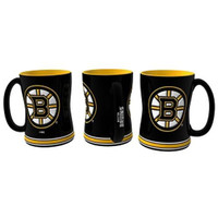 Boston Bruins NHL Coffee Mug - 15oz Sculpted (Single Mug)