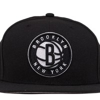 5950 NETS FITTED HAT - BLACK