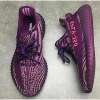 Adidas Yeezy 550 Boost 350 V2 Popular Women Men Casual Sport Running Shoe Sneakers Purple