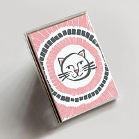 Happy Cat Note Boxed Set