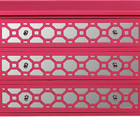 Honeycomb Pink Chest