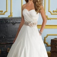 Strapless Wedding Dresses | Strapless Bridal Gowns | MissesDressy