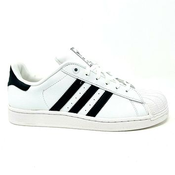 Adidas Superstar 2 K White Black G04532 Junior Youth Kids Sneakers