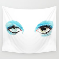 Bowie - Life on Mars? Wall Tapestry by Martina Marzullo Art