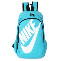 NIKE Fashion Letters Sports backpack (7 color) Sapphire Light blue Tagre™