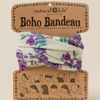 Boho Bandeau by Natural Life in Soft Floral