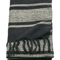 H&M Striped Cotton-blend Throw $29.99