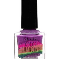 Purple Color Changing Nail Polish