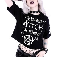The Baddest Witch In Town | CROP TOP