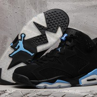 2017 Air jordan retro 6 shoe UNC Mens Basketball Shoes Sneakers Eur 36-47 With box