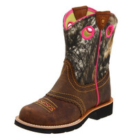 Ariat Kid's Fatbaby Camo Round Toe Boots