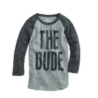 BOYS' THE DUDE BASEBALL TEE